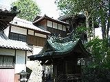 岩田神社の奥殿