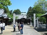 岩田神社 藤まつり