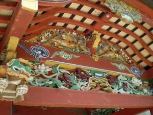 霧島神宮(拝殿の装飾)