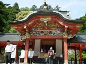 霧島神宮(勅使殿)