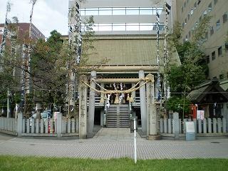 白神社(拝殿)