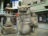 白神社(狛犬)