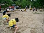 蛇ヶ谷公園柔軟体操