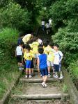 蛇ヶ谷公園上り階段