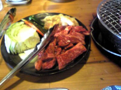 焼き肉、みやび