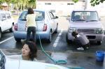 みんなで洗車