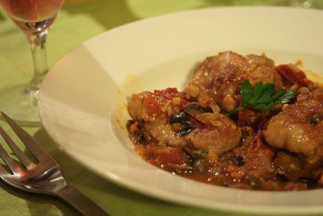 鶏のハーブトマト煮_6205