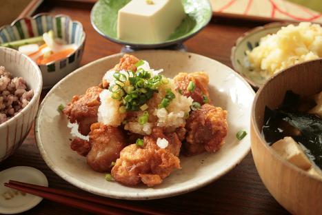 鶏のから揚げおろしポン酢_7357