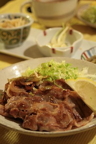 豚生姜焼き_7464