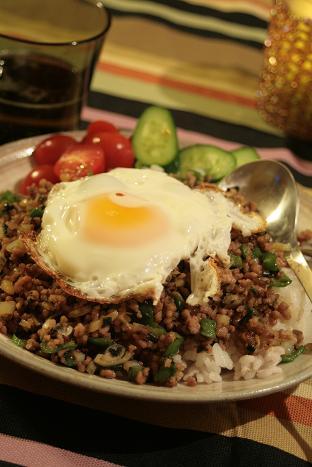 五菜ひき肉ごはん_7781