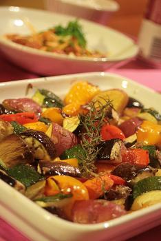 夏野菜のオーブン焼き_9341