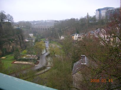ルクセンの渓谷