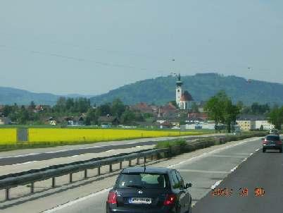 ザルツブルグへ