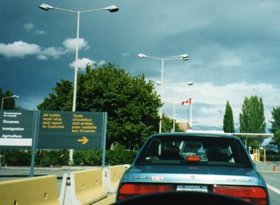 カナダ国境2