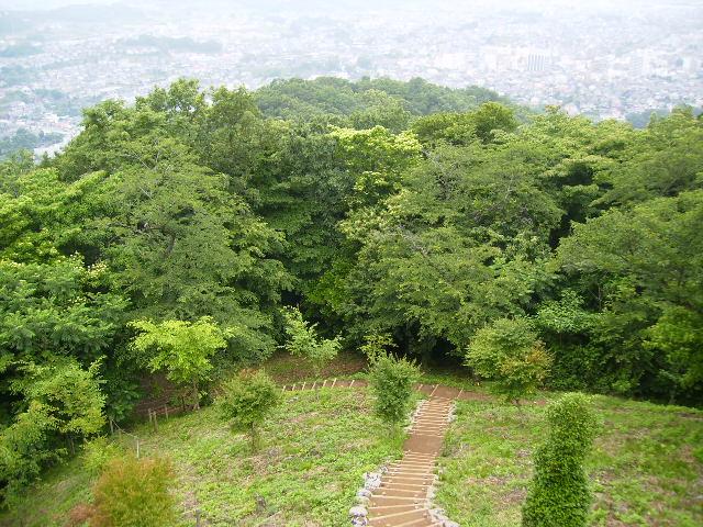 浅間山を望む75