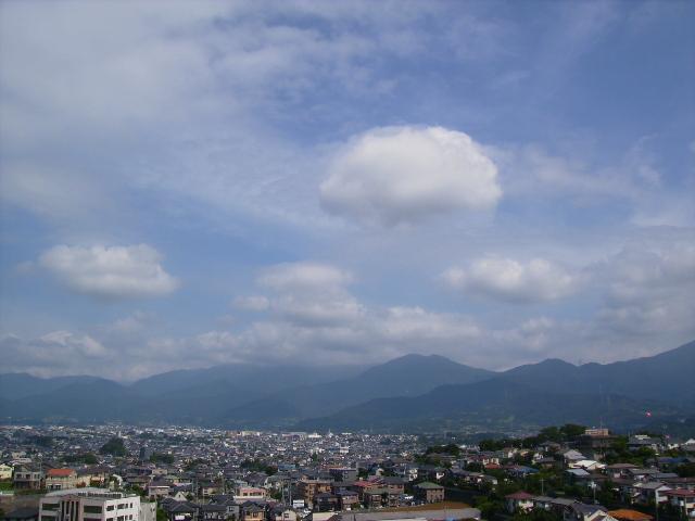 丹沢の雲19