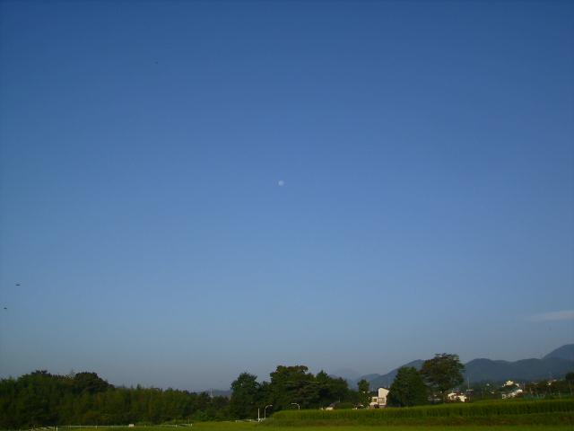 月と富士08