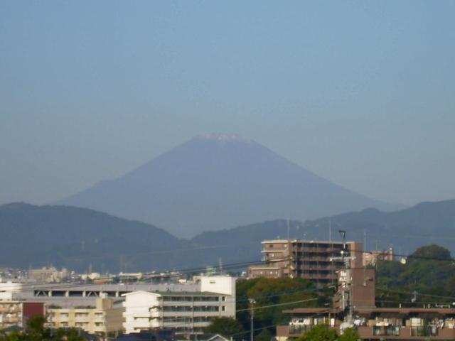 富士の冠雪24