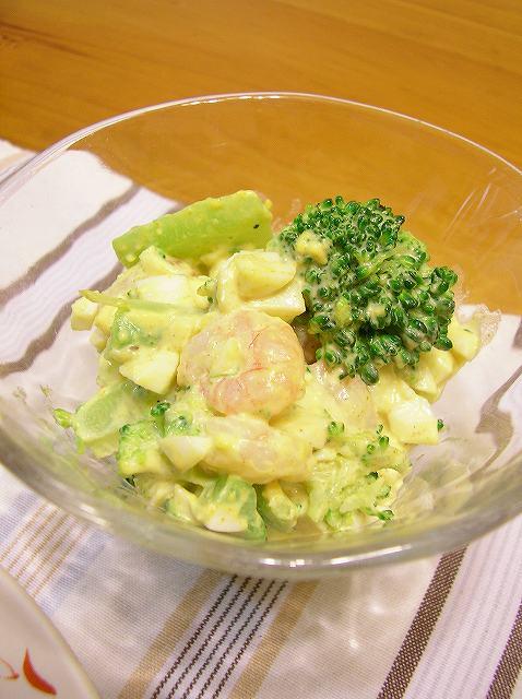 ブロッコリータルタルサラダ