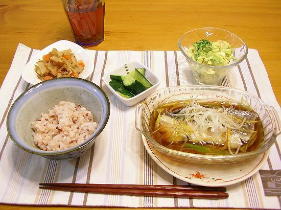 魚の中華蒸し1