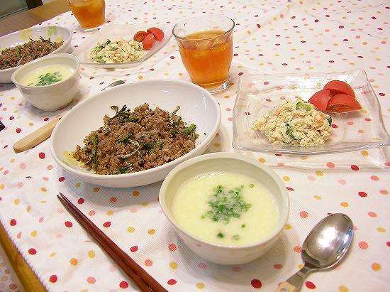 ゴーヤと煮干のチャーハン2