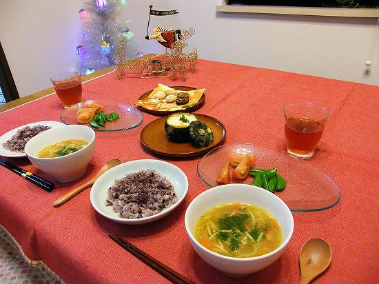 クリスマスのご飯