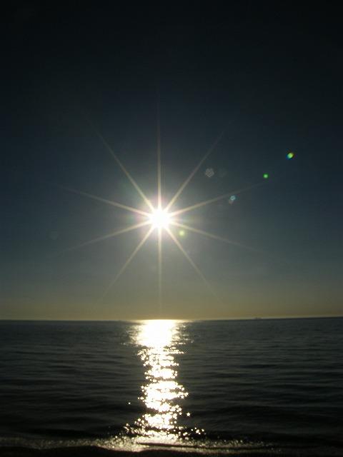 淡路の夕日1