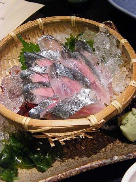 秋刀魚お刺身