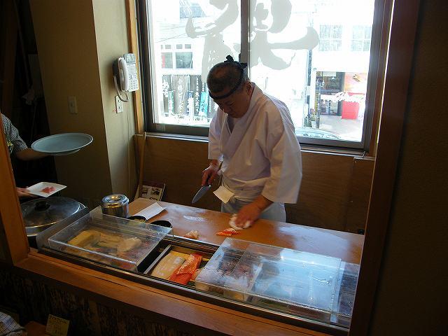 小樽でお寿司1