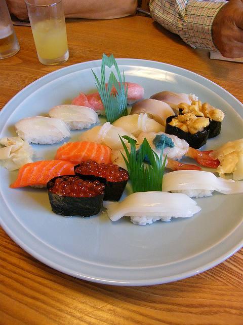 小樽でお寿司2