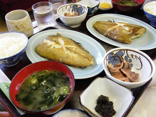 銀ガレイ定食