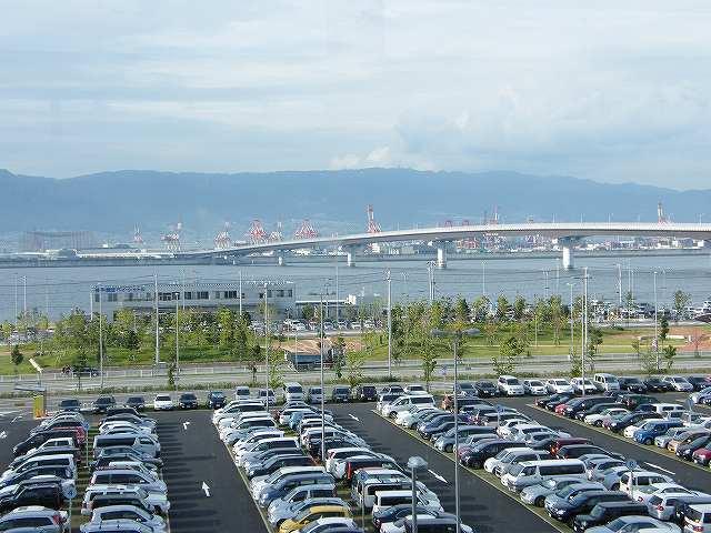 神戸空港に帰ってきた