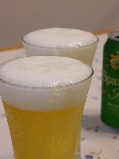 ビールがきくー
