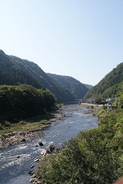 武田尾の川