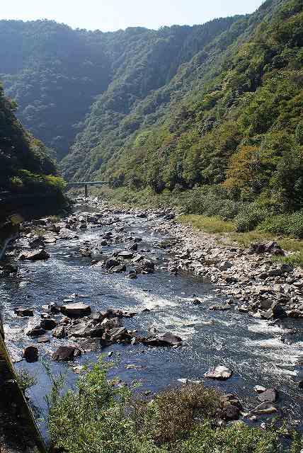 武田尾の川2