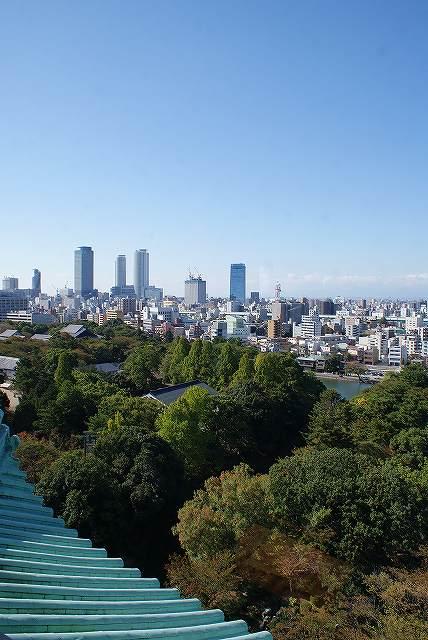 名古屋城より