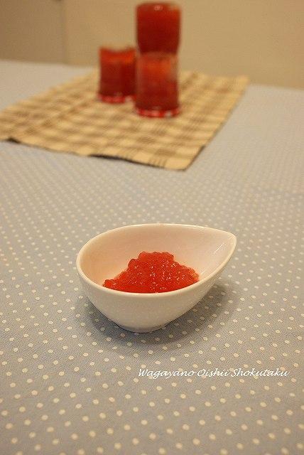 紅いリンゴジャム