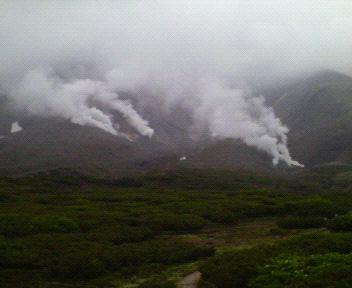 旭岳噴煙200807092317000