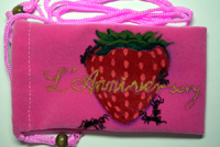 草莓手機袋
