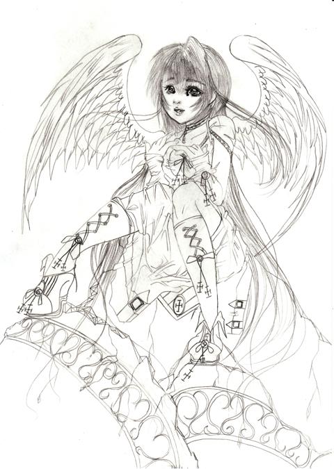 座りっ子天使(//^-^//)