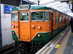 東舞鶴駅クモハ113-5807