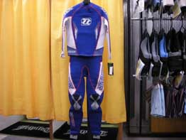 FORCE RACE SUIT (BLUE・前)