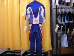 FORCE RACE SUIT (BLUE・後)