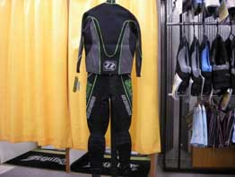 FORCE RACE SUIT (GREEN・後)
