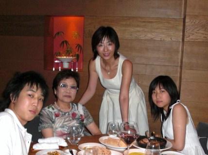 birthday night with children