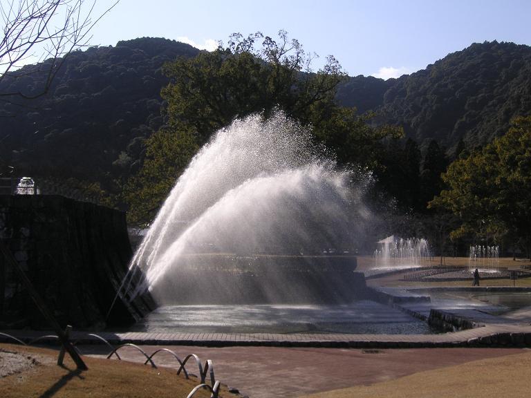吉香公園 大噴水