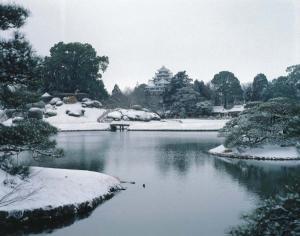 後楽園 冬景色