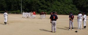 青年部親睦野球大会美作ブロック予選会(作州津山、みまさか、久米郡)