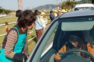 女性部交通安全キャンペーン 平成19年5月11日