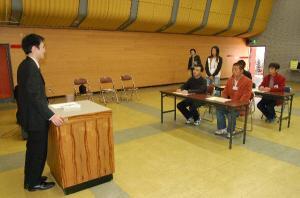 外国人研修生交通安全講習会
